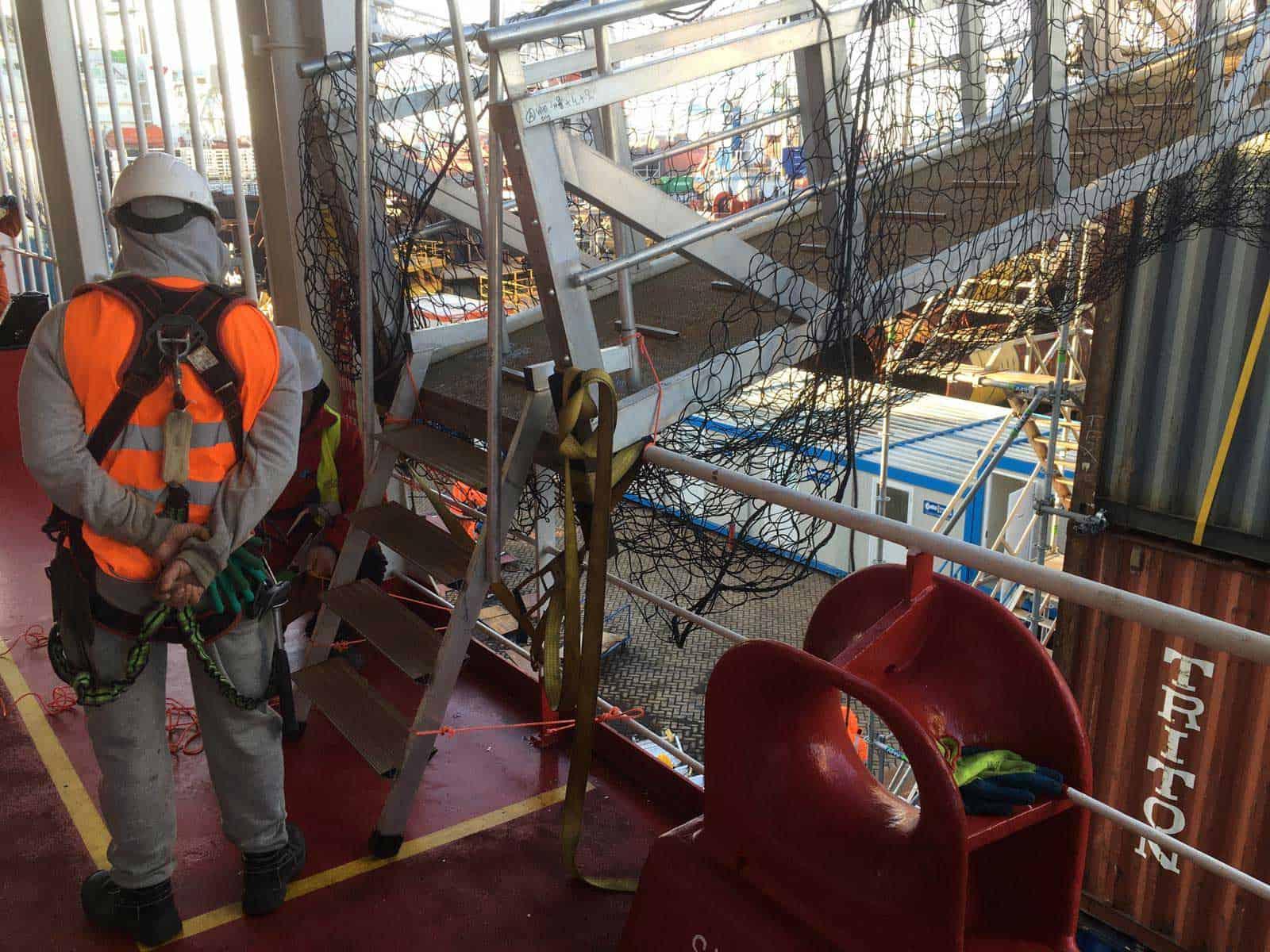 Bridges2000 Project Gangway Operaties