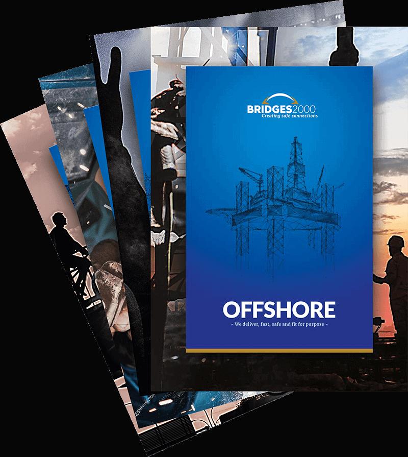 BRIDGES2000 brochures Civiel, Maritiem, Evenementen, Offshore